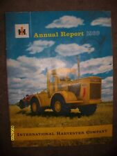 RARE HTF 1960 IH International Harvester Annual Report Booklet