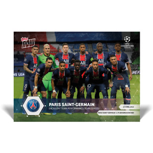 Kylian Mbappe - Neymar Jr - Paris Saint-Germain - 4/13/21 UCL Topps Now Card #62