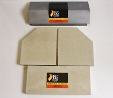 Clearview Vision 500 Stove Baffle and Fire Brick Set