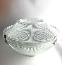 Antique Holophane Glass Lamp Shade 1920's English