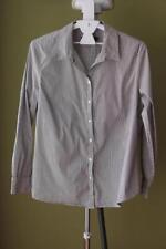 Sportscraft Nylon Long Sleeve Button Down Shirt Tops & Blouses for Women