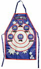 Beer Pong Apron Party Drinking Game BBQ 6 Cups Tailgate Novelty Gift Funny Cook