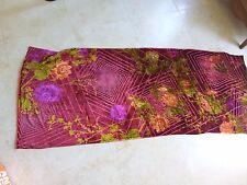 NEUF- foulard, écharpe, étole en soie double KENZO 170 cm x 66 cm Signé
