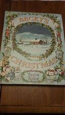 Becky's Christmas by Tasha Tudor 1961 Children's Picture Book Viking Press