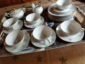 "Seltmann Weiden Liane ""Pusteblume"" Teeservice 50er Jahre, sehr selten"