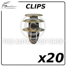 Clips Puertas Pannels 8,2mm Peugeot 405 605 807 Numero de Pieza: 1281 Pack de 20