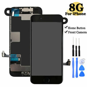 For iPhone 8 LCD Touch Screen Replacement Digitizer Display with Home Button