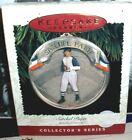 Satchel Paige`1996`Baseball Heroes,3Rd In Heroes Series,Hallmark Tree Ornament