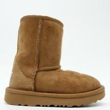 UGG T Classic II #1017703T Brown Chestnut Toddler Winter Boots US 8 EU 25