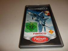 PlayStation Portable PSP  Ace Combat X: Skies of Deception [Platinum