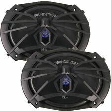 "Pair of Soundstream Sm.690 250 Watt 6x9"" Pro Audio Mid Range Bass Speakers 6""x9"""