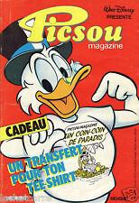 Picsou Magazine N°163 - Walt Disney - Eds. Edi-Monde - 1985