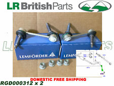 LAND ROVER REAR STABILIZER BAR LINK SPORT LR3 LR4 SET 2 LEMFÖRDER NEW RGD000312