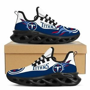 Tennessee Titans Sneakers Shoes Men Women Mesh Trail Running Training Shoes Gift