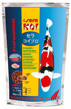 Purchase 3 - Number 1! Sera Koi Professional Spring Autumn Food, 3x500 G