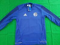FC Schalke 04 Trainings Top 2017/18 Adidas M L -NEU- Sweatshirt