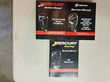 3 MERCURY VERADO SHOP MANUALS P/N'S  90-897928T01, 90-8M0082470, 90-8M8023781