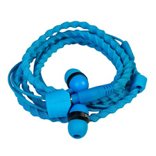 Wraps Classic Wristband Bracelet In-ear Headphones - Blue