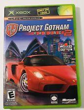 Project Gotham Racing 2 (Microsoft Xbox, 2003) Complete