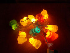 (3) Easter Bunny- Eggs Blow Mold String Lights Yard/Home Decor