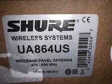 Shure Ua864Us Wall Mounted Wifeband Antenna