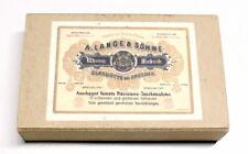 A. Lange & Söhne Schachtel / Box für Taschenuhr aus Karton