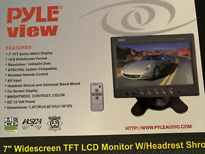 Pyle PLHR79- Car rear view camera Monitor - For Backup Reverse Camera , fpv cam