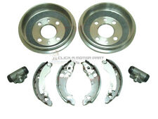 FIAT PUNTO MK1 1993-1999 REAR 2 BRAKE DRUMS & SHOES SET & 2 WHEEL CYLINDERS NEW