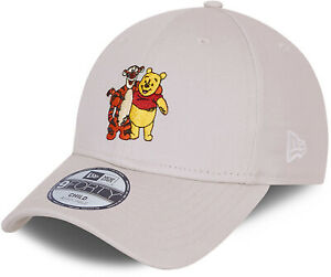 Winnie The Pooh New Era 940 Kids Disney Character Stone Cap (Age 4 - 12 Years)