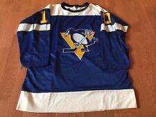 Pittsburg Penguins Vintage Champion Mesh Hockey Jersey Retro NHL Sz Youth XL