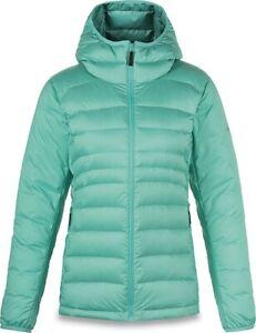 Dakine Deville Down Mid Layer Jacket Women's Medium Lagoon Green New