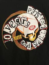 Vintage 2004 Vans Warped Tour T-Shirt M Vintage Punk 10 year anniversary shirt