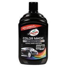 Turtle Wax Color Magic JET BLACK Car Polish & Wax Paint Scratch Restorer