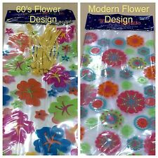 Cello Bag Flower Design Clear 20 count - Brand New - Excellent Quality - 2 Types