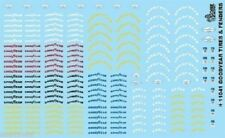 Gofer 11041 Goodyear Tires and Fenders Logos Decal Sheet 1/24 and 1/25