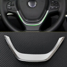 Steering Wheel Cover trim for BMW 1 3 Series F20 114i F30 318d 2013 2014 2015