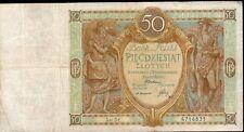 POLOGNE 50 Zlotich 1929 Circulé;Pick 71 / Lot 66