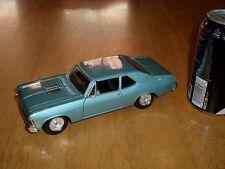1970 CHEVROLET NOVA SS CAR, MAISTO TOYS, DIE CAST METAL FACTORY BUILT TOY, 1:24
