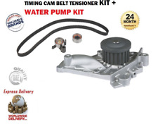 FOR TOYOTA CELICA 2.0 GTI 16v 1985-1989 WATER PUMP + TIMING BELT TENSIONER KIT