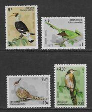 NEPAL 1977   Birds set of 4 MINT NH