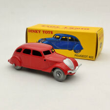1/43 DeAgostini Dinky Toys 24K Peugeot 402 Red Diecast Models Limited Collection