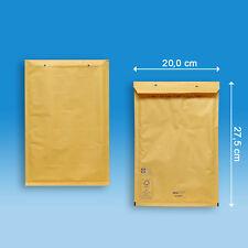 100 aroFOL® classic Luftpolsterversandtaschen Gr.4 (D) - braun - FSC Papier