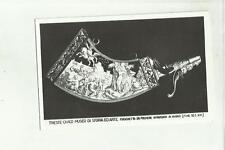 138000 trieste civico museo di storia ed arte fiaschetta da polvere intarsiata