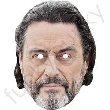 Ian McSHANE Celebrità Maschera di carta-Lovejoy-RAMI secchi. tutte le nostre Maschere sono pre-tagliati!