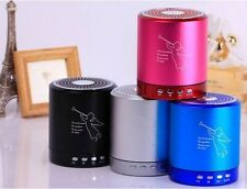 Portable  Music Angel Player Mini Bluetooth Speaker For PC MP3/4 Micro SD/TF