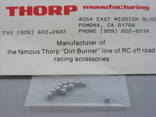 "Vintage THORP Dirt Burners 4505 Blackfoot Monster Beetle FOX 1/8"" G10 Diff Balls"