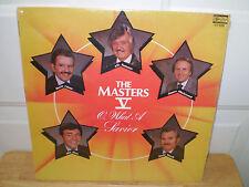 """THE MASTERS V.....""""O, WHAT A SAVIOR"""".......OOP GOSPEL ALBUM"""