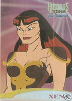 Hercules Xena C1  Lucy Lawless as Xena casting call insert trading card