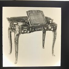 Antique Magic Lantern Glass Slide Photo French Ormolu Lectern Table