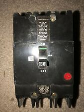 Ge Teymo230 Circuit Breaker: 480 Volt, 3 Pole, 30 Amp Circuit Breaker